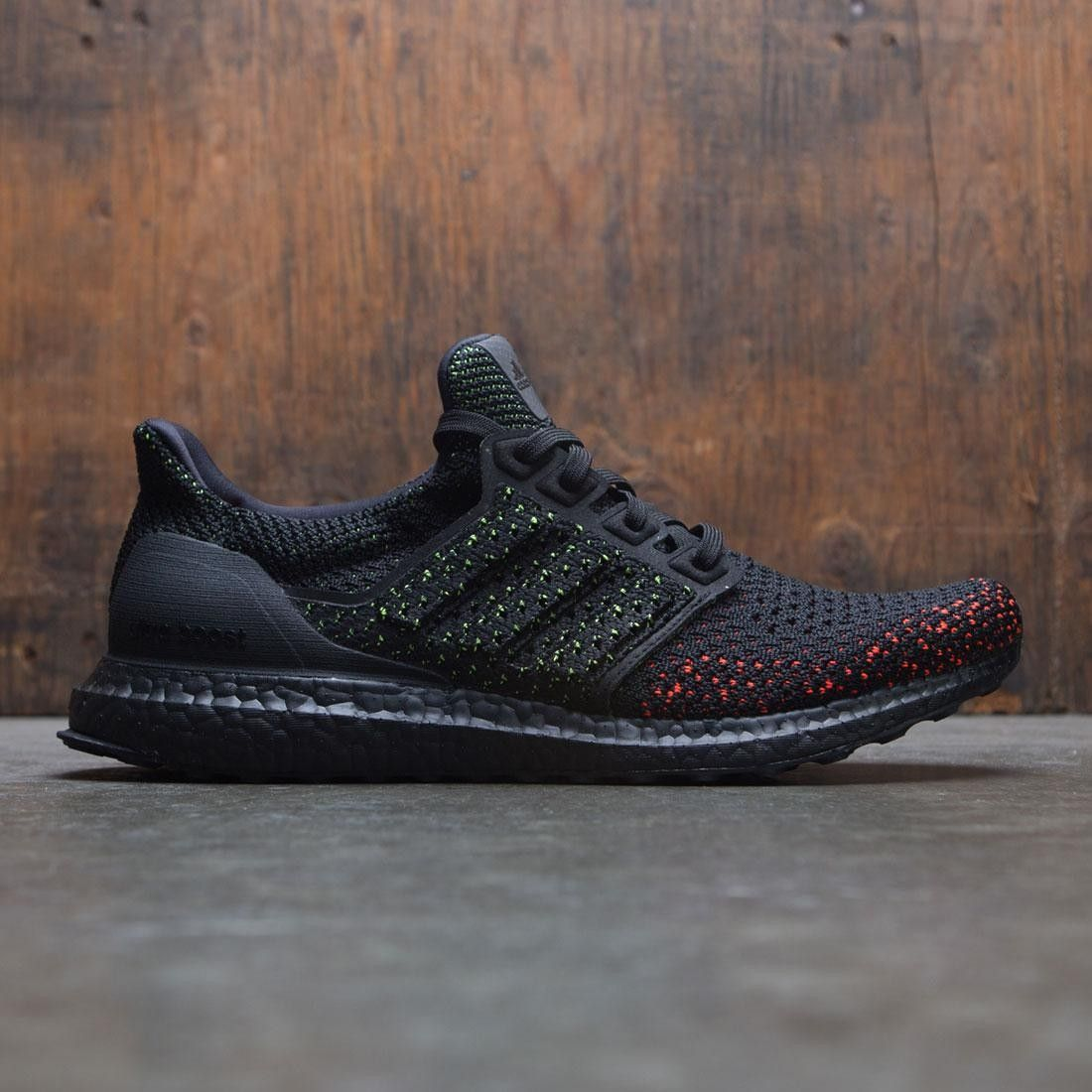Adidas Men UltraBOOST CLIMA (black   core black   solar red) in 2019 ... dab2c7a03