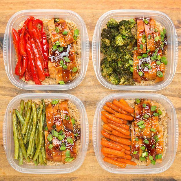 One Pan Teriyaki Chicken Meal Prep Recipe Meal Prep Pinterest