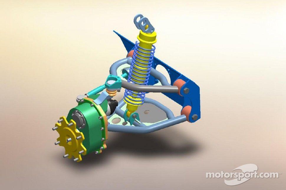 Front Independent Suspension  Portal Drive Axle Design