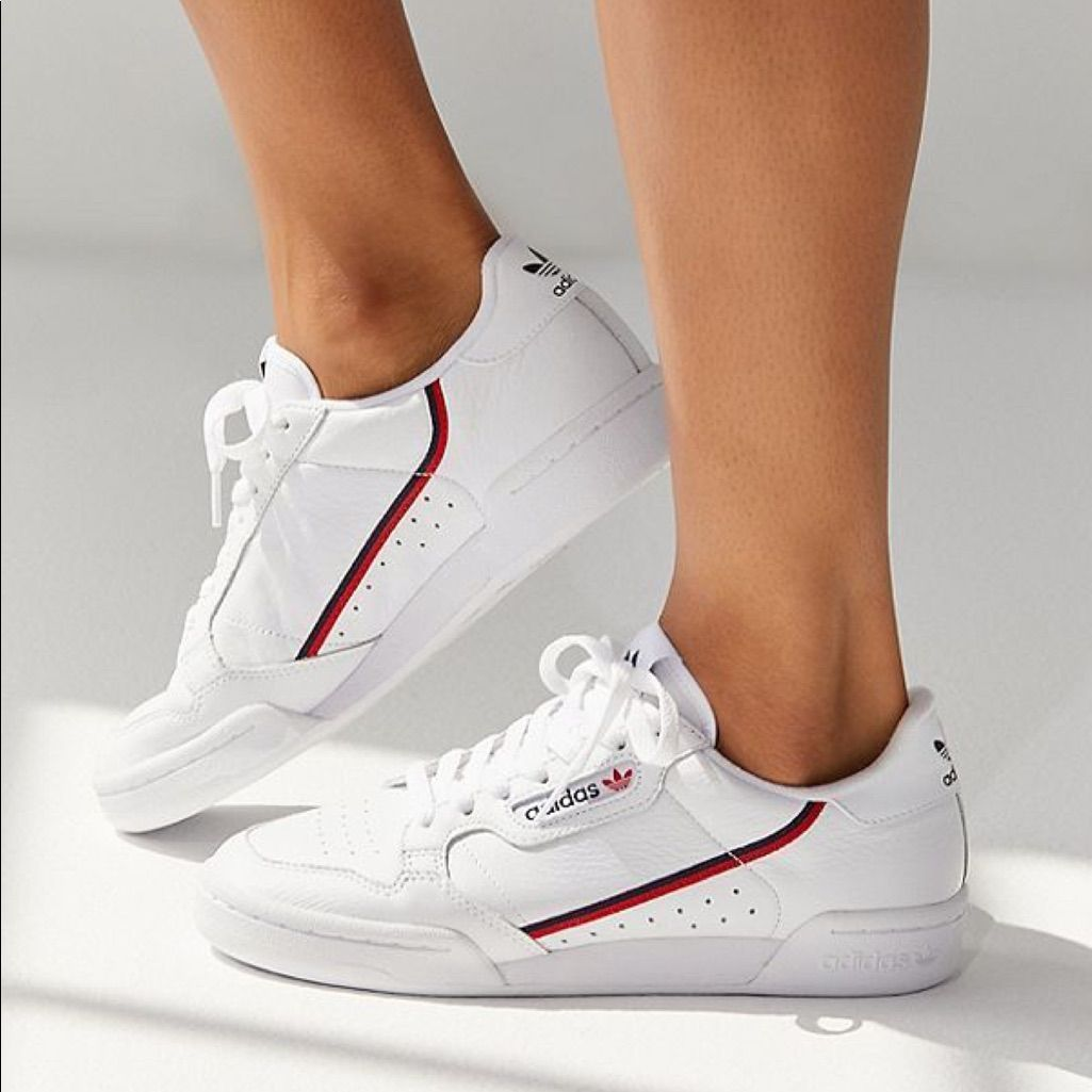 adidas Shoes | Adidas Continental 80 Shoes | Color: Red