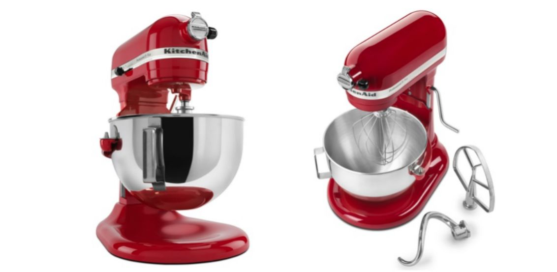 Hot deal kitchenaid 5quart professional mixer only 210