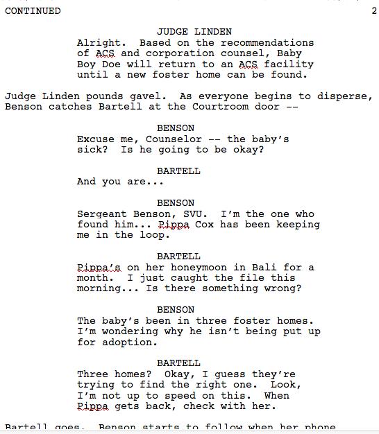 Warren Leight on   Scripts