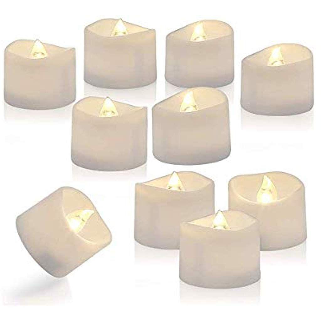 Zorara Led Kerzen Flammenlose Kerzen Elektrische Kerzen Lichter