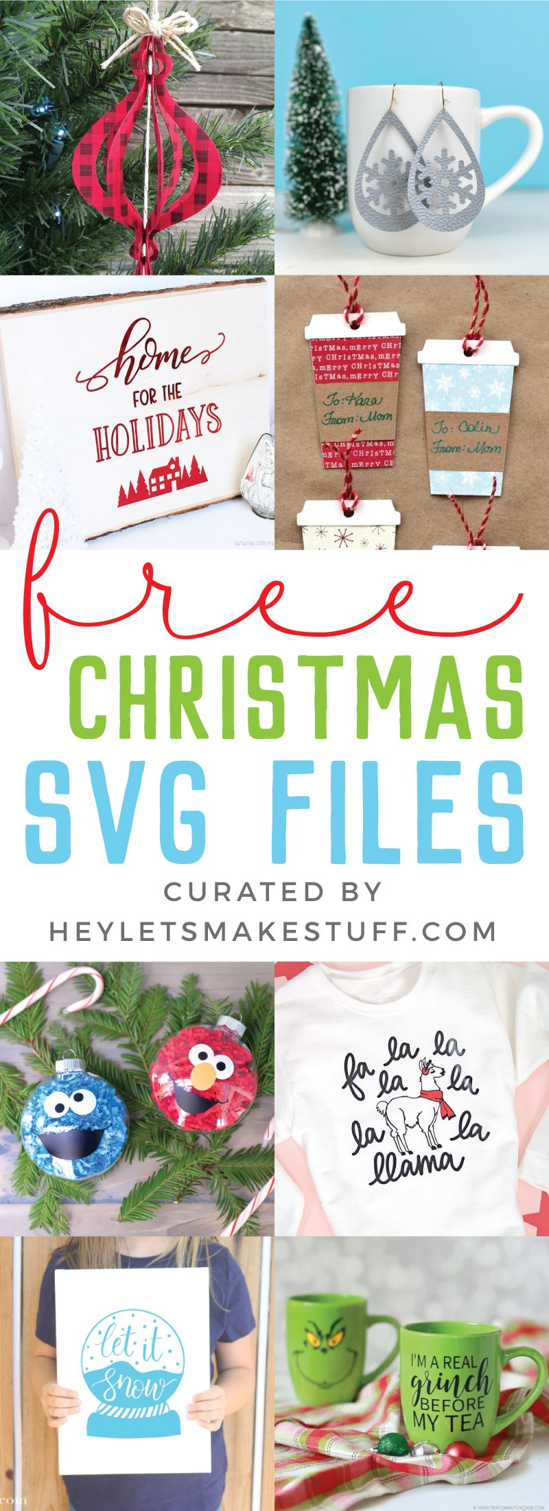 Free SVG Files for Christmas | SVGs | Christmas svg, Svg cuts, Svg
