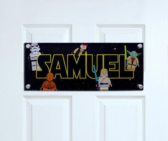 Star Wars Inspired Door Plaque Personalised