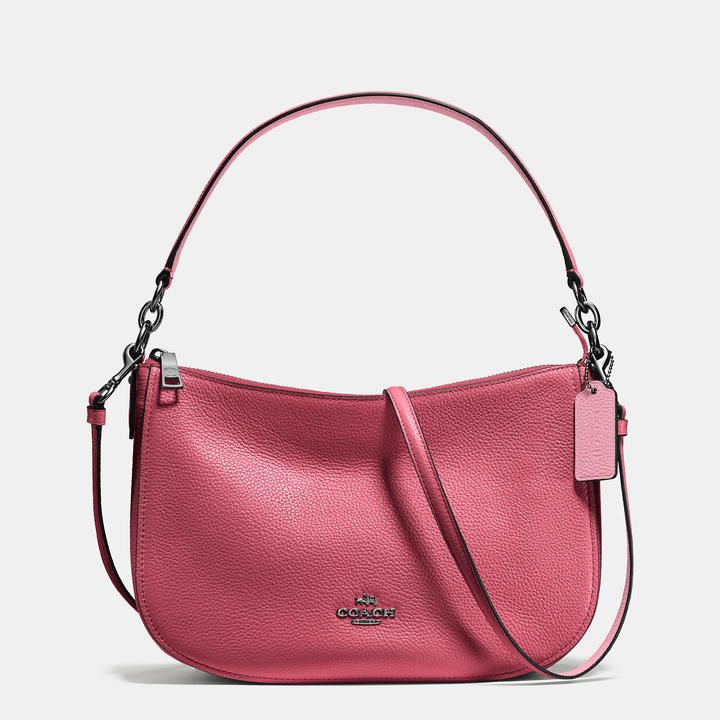 6291f66b71d57 COACH Coach Chelsea Crossbody In Polished Pebble Leather. COACH Coach  Chelsea Crossbody In Polished Pebble Leather Leather Handbags