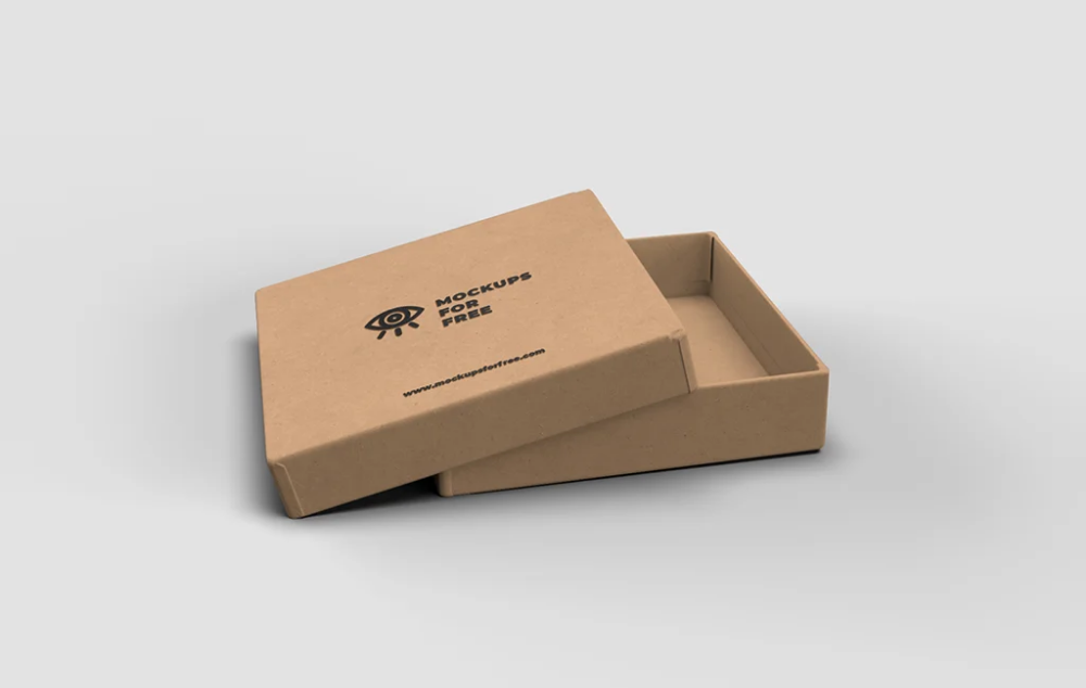 Download Craft Paper Box Mockup Mockups For Free Box Mockup Paper Box Packaging Mockup