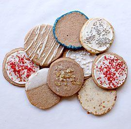 Vanilla Slice-and-Bake Cookies #sliceandbakecookies