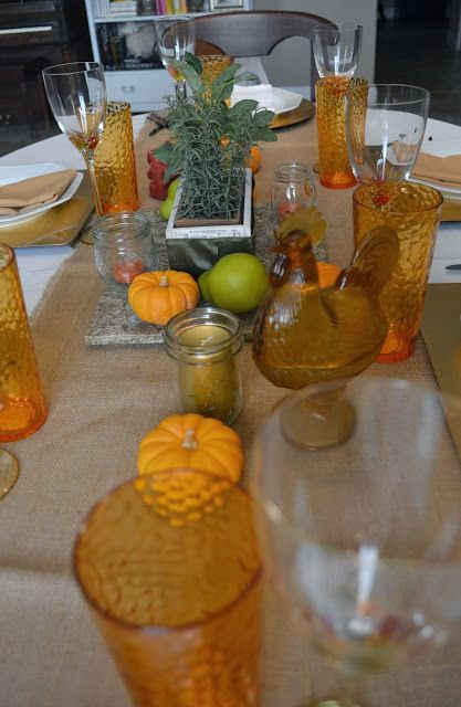 Particularly Practically Pretty: A fall tablescape