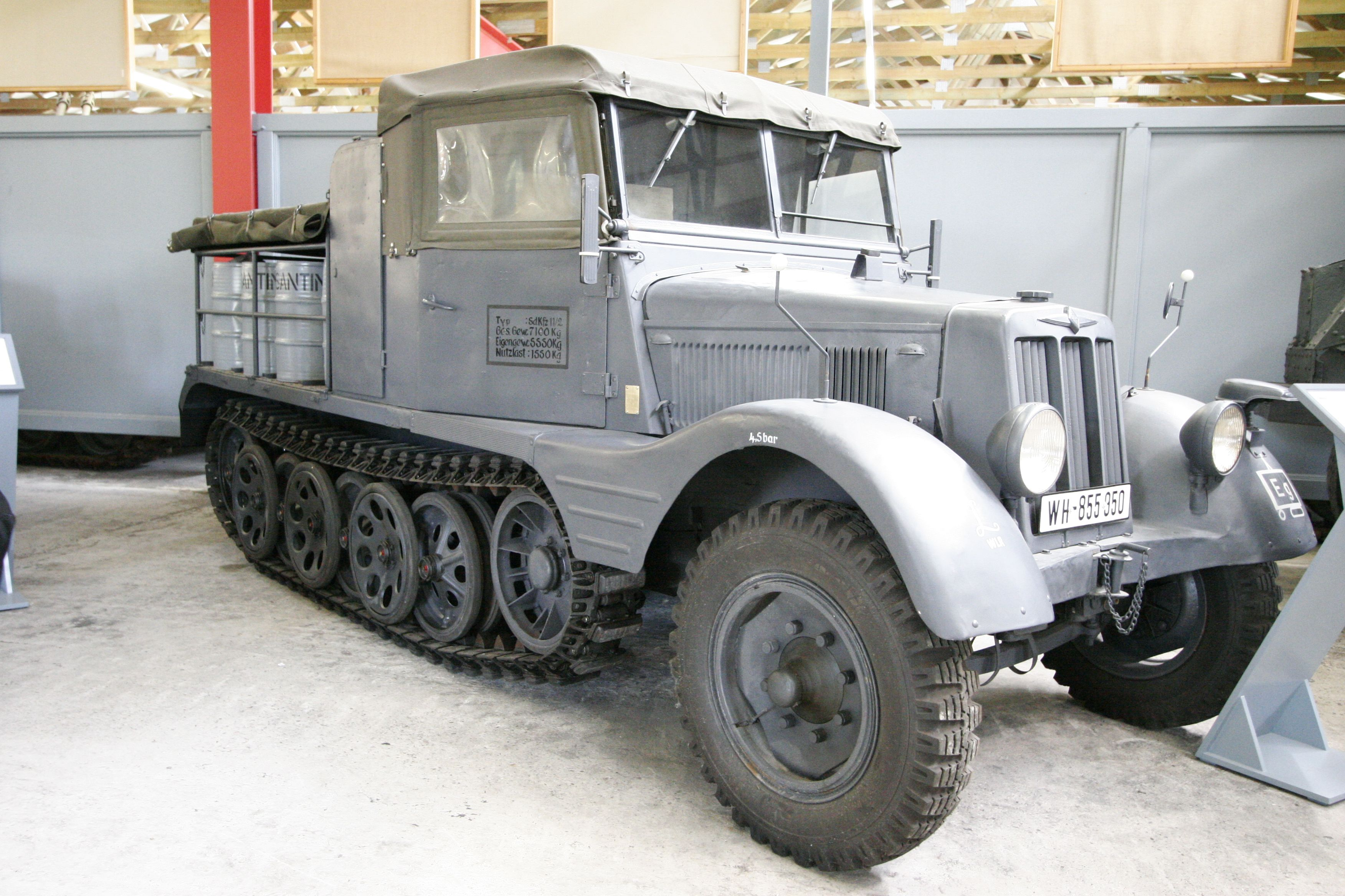 Sdkfz 11 2 Military Vehicles Army Truck Armored Vehicles
