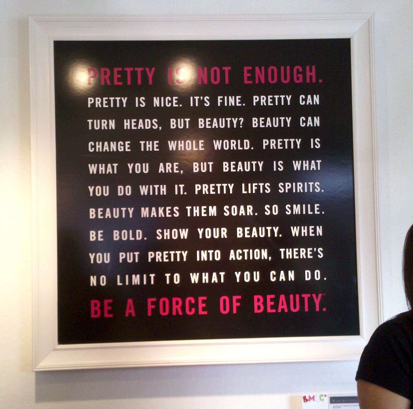 Pretty / Beautiful