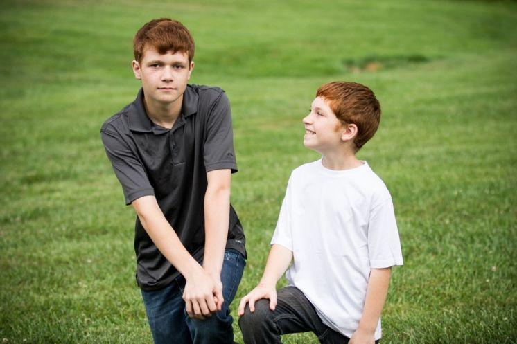 Bray Family Portraits / Brothers | Burlington, ky » Alyssa Curry Photography