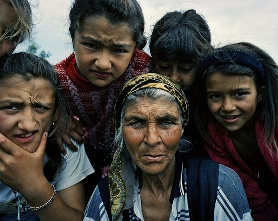Roma Women So Strong And Faces Filled With Character Gypsies