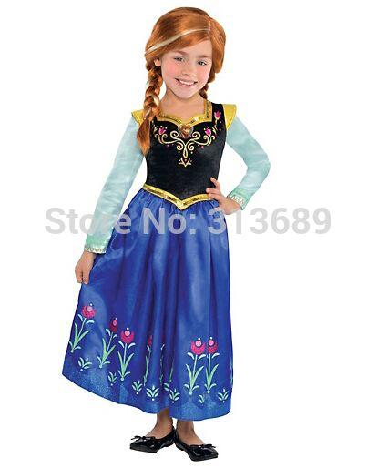 Fantasia Frozen Barato Vestido Princesa Elsa Infantil Disney