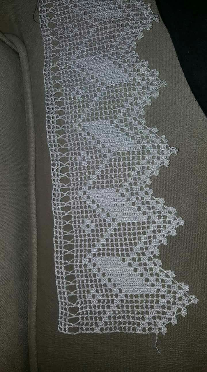 Bella para borde de cortina ganchillo puntillas de - Puntillas para cortinas ...