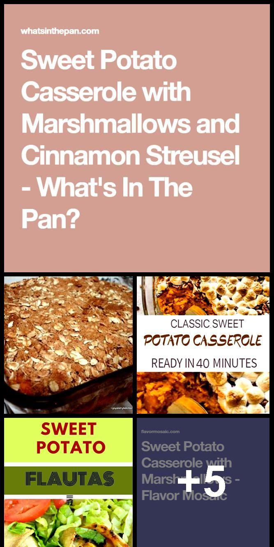 Classic Sweet Potato Casserole Recipe   with Marshmallows! #sweetpotatocasserole