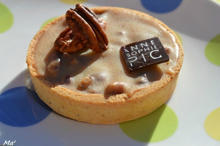 Tarte Pécan by Anne-Sophie PIC