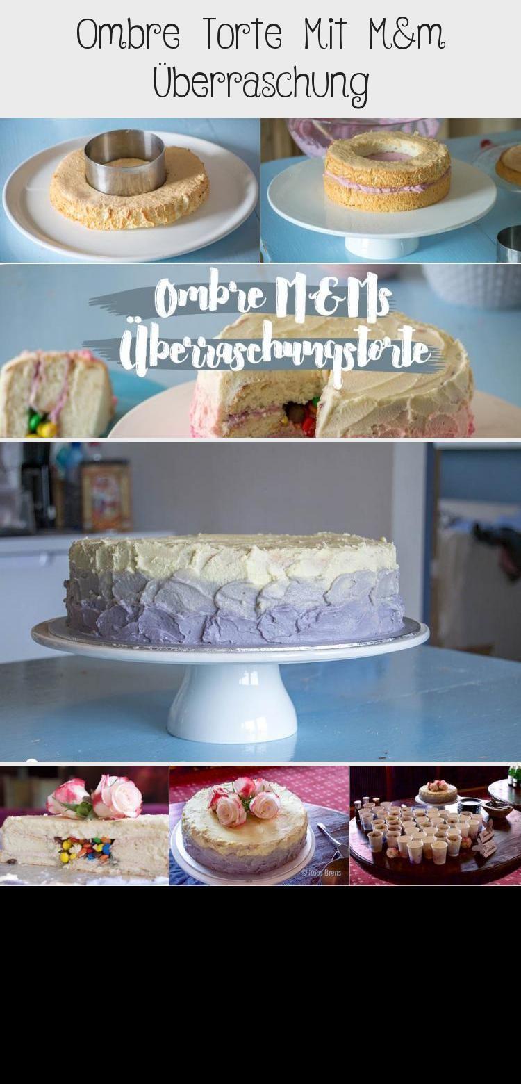 Photo of Hochzeitstorten ombre #hochzeitstorten Ombre Kuchen mit Mamp; M Smarties ausfüllen …