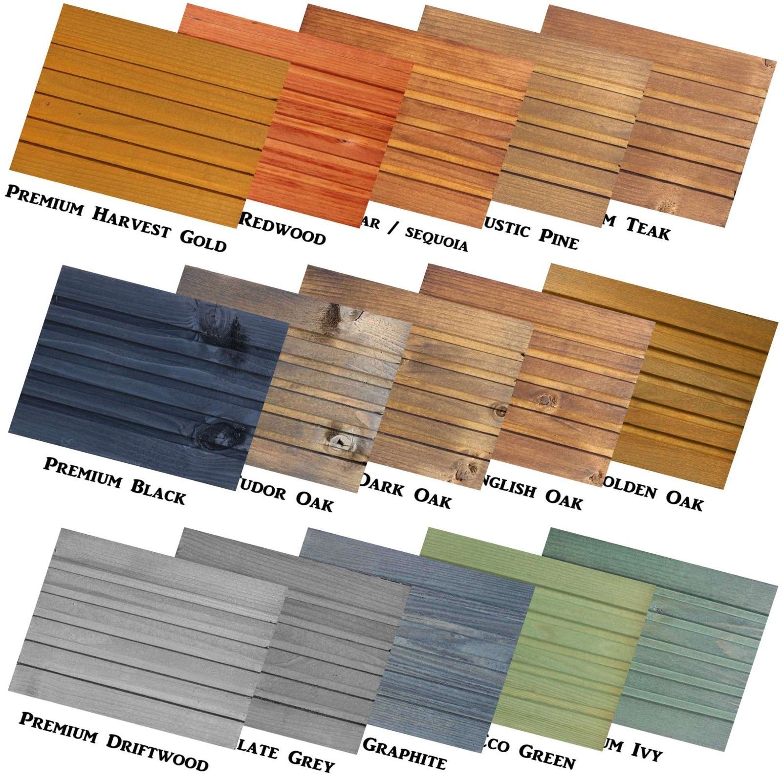 Premium Decking Exterior Wood Stain Shed Fence