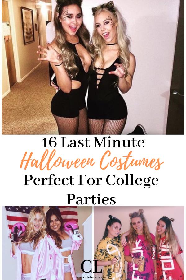 Cutest Last Minute Halloween Costumes Last minute