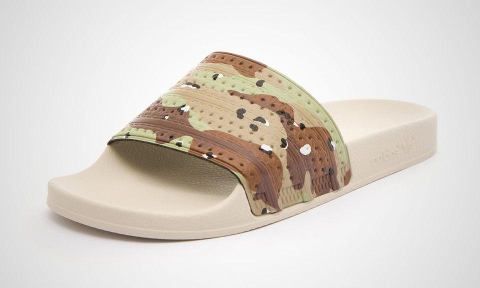 ac4fe266f adidas Adilette Camo | shoes | Adidas, Adidas sandals, Sneaker stores