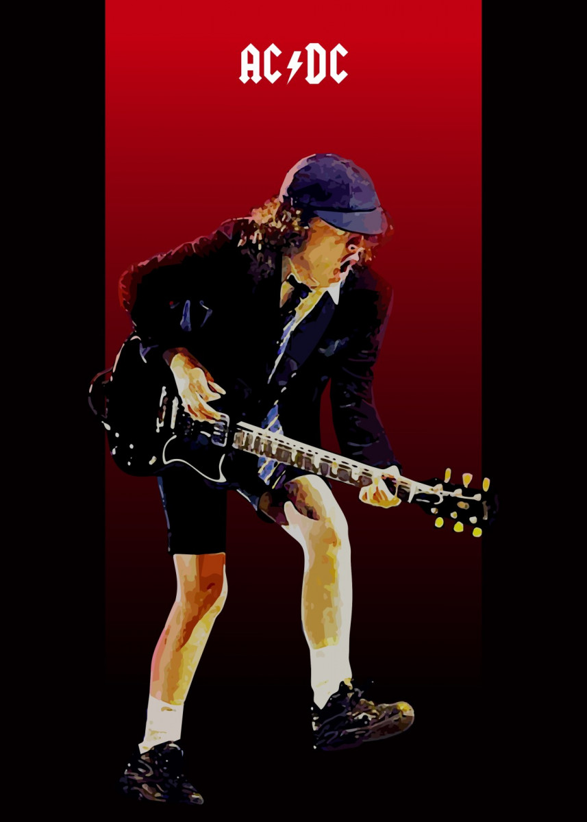 Angus Young ACDC