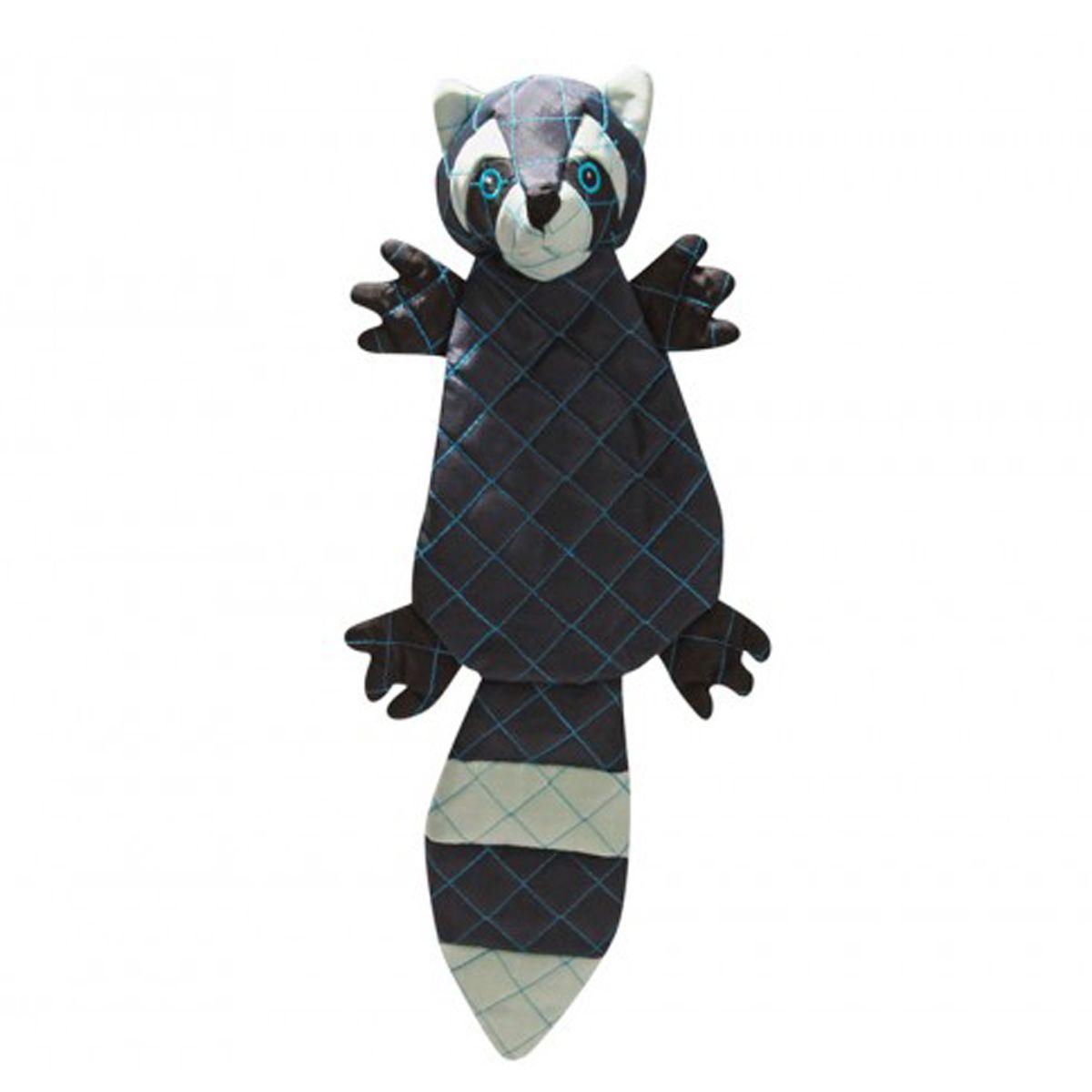 Hugglehounds Tuffut Luxx Dog Toy Raccoon Dog Toys Pet Paws