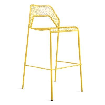 Blu Dot Hot Mesh Patio Bar Counter Stool Color Yellow Seat