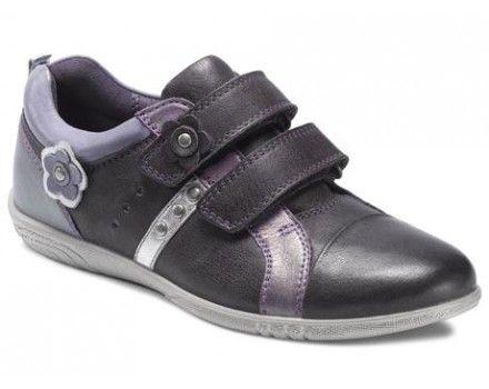 4e69a59eb68c Ecco 725672 Alicia Night Shade N.Shad Purpl Flot elegant pige sko der kan  bruges til hverdag eller festlige lejligheder. Lukkes med velcro
