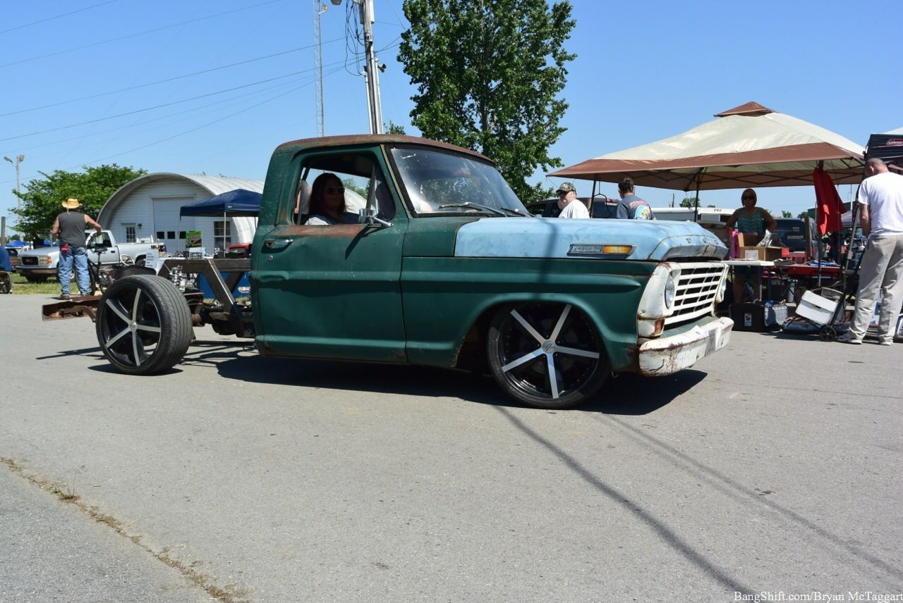 1967 F100 4 6 Liter Fuel Injection 5 Spd Crown Vic Independent