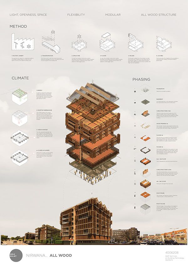 Nirwana All Wood The Hague On Behance The Hague Wood Architecture Design