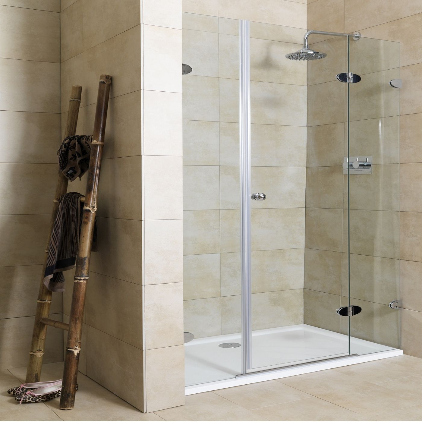 Small Bathroom With Frameless Shower: Bath Shower Doors Glass Frameless