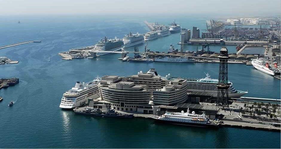 S21e10 Barcelona Spain Port Cruise Port Cruise Barcelona