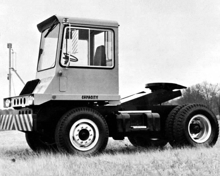 Details about 1974 Capacity Trailer Jockey Tractor Truck Photo ...