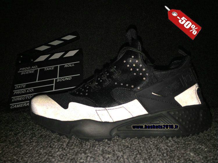 hot sale online ab503 ec65a Officiel Nike Air Huarache 4 Décoloration Réfléchissante Chaussures Nike  Pas Cher Pour Homme