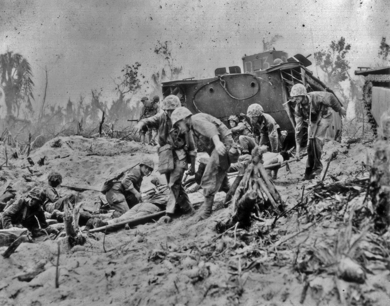 70th Anniv. of the Battle of Peleliu   American Civil War Forums   Marines  in combat, Battle of peleliu, History war