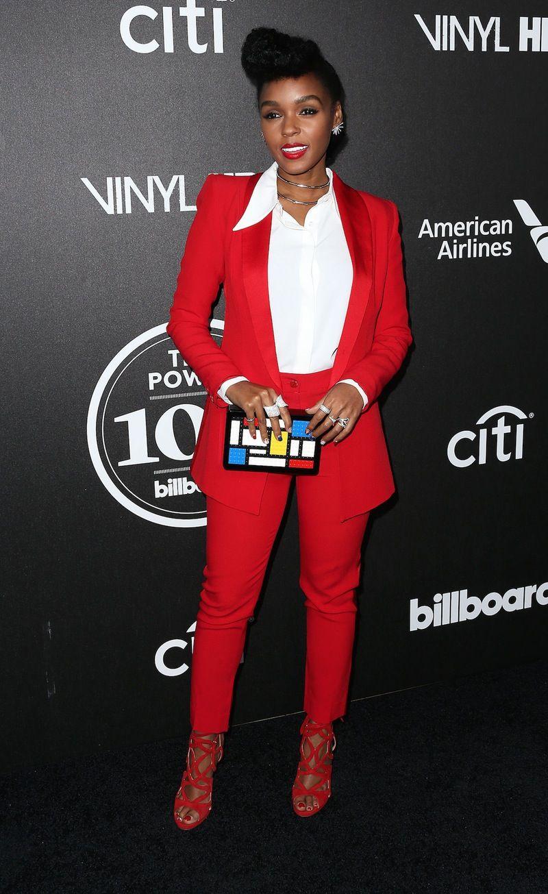 4ef34ad9eedf Janelle Monae in red tuxedo