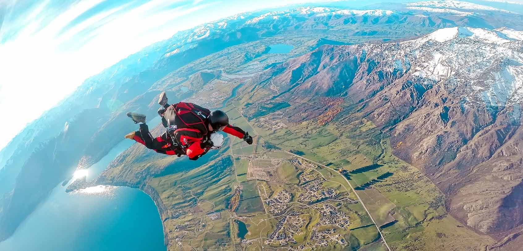 Base Jumping Wallpaper Active Lifestyle Photo Mountains And The