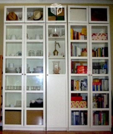 Conjunto Librera Blanco Ikea Serie Billy Oxberg