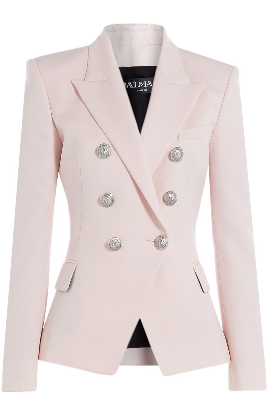 9e99253034 BALMAIN Wool Blazer With Embossed Buttons.  balmain  cloth  blazer ...