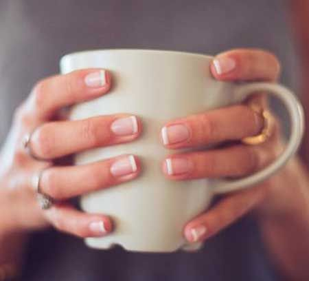 French Manicure Natural Nails | Nails | Pinterest | Natural nails ...
