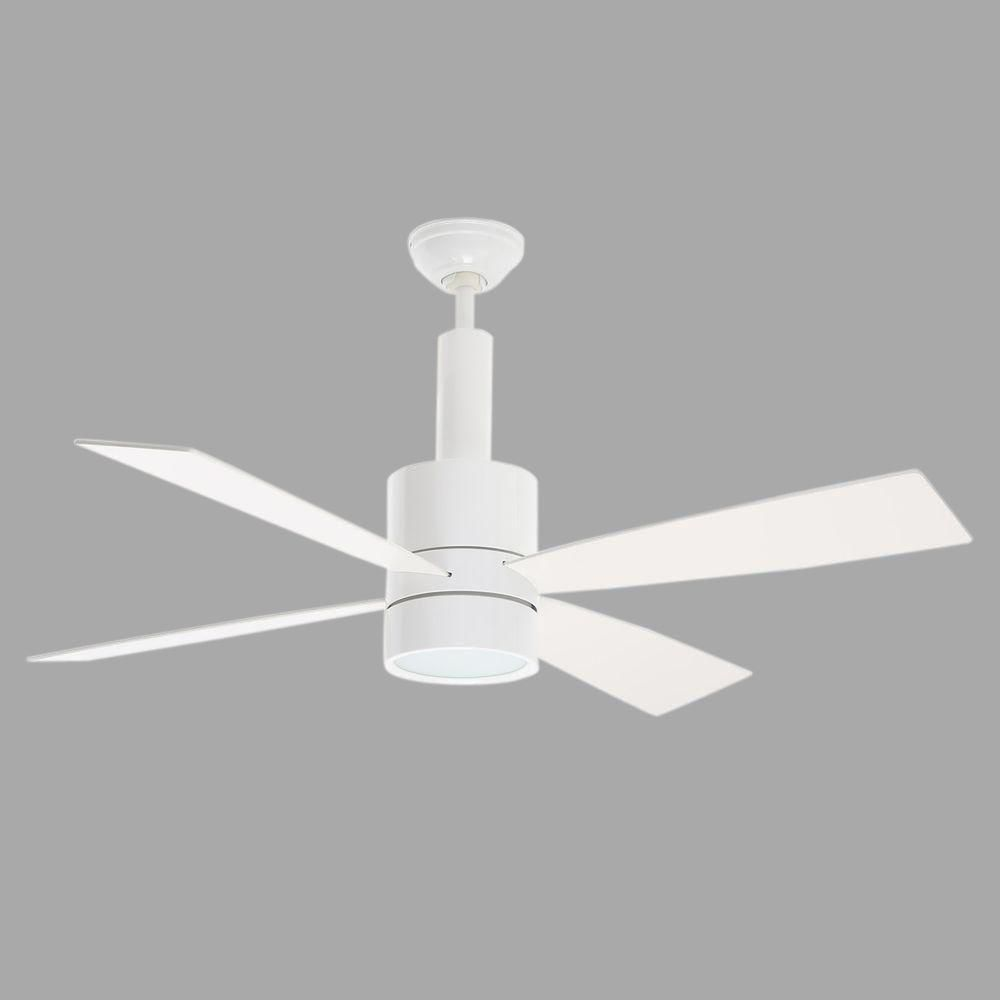 Casablanca bullet 54 in indoor snow white ceiling fan with casablanca bullet 54 in indoor snow white ceiling fan with universal wall control aloadofball Gallery