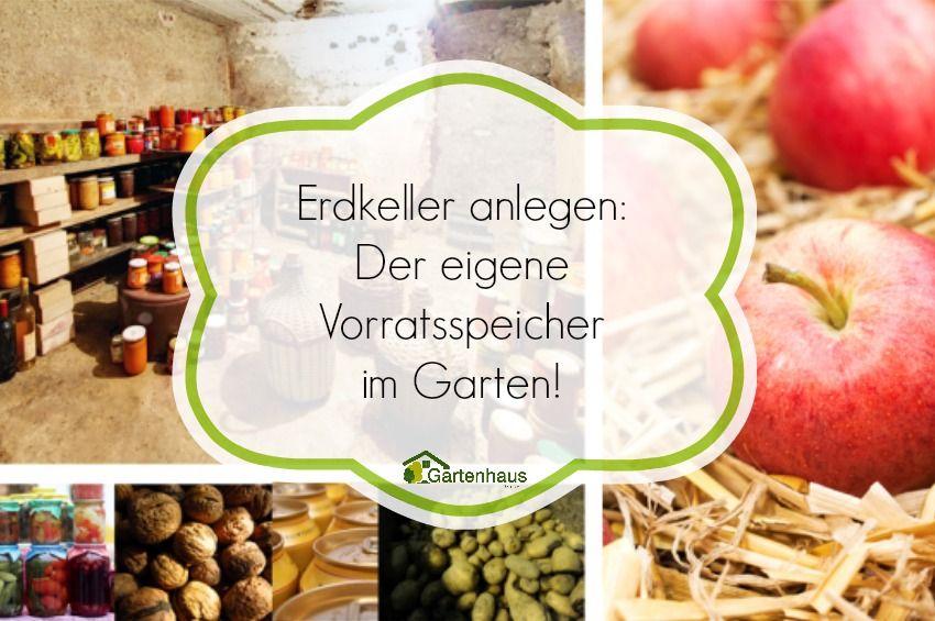 Ein Erdkeller als Vorratsspeicher: Wie Sie Gartengemüse, Kartoffeln und Äpfel am besten lagern und welche Erdkellerbauten es gibt, erfahren Sie hier.