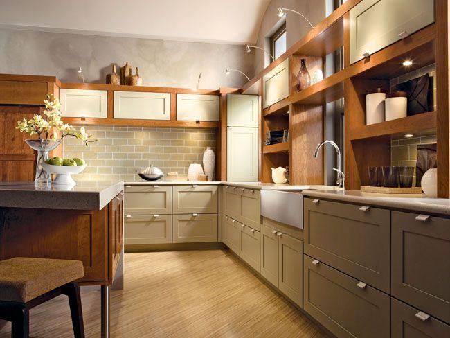 Best Kitchen Contemporary Dynamic Photo 48 Kraftmaid 400 x 300