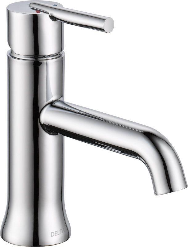 $102.69-Delta 559LF-LPU Trinsic Single Hole Bathroom Faucet - Includes 3-Hole Cover Plate