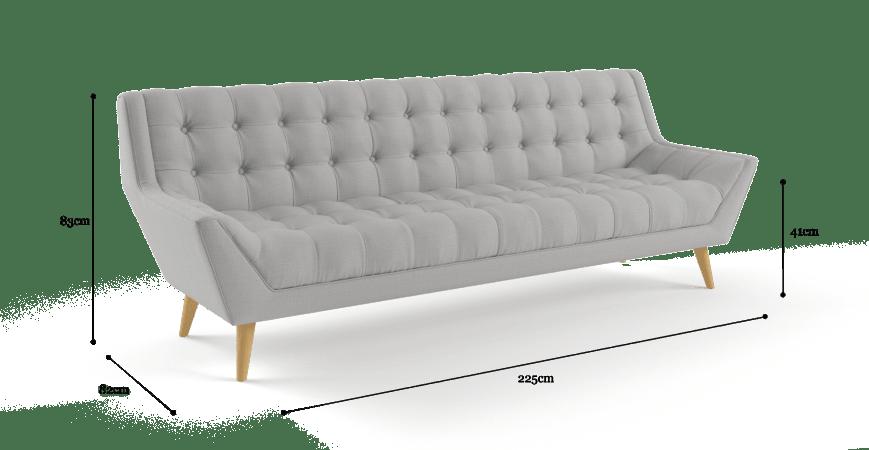 Pia 3 Seater Sofa In 2020