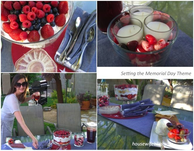 Top tips for hosting an all American outdoor party from housewifebliss.com