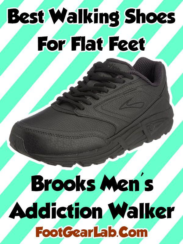 c272c24b65d Brooks Men s Addiction Walker - Best Walking Shoes For Flat Feet Men -   footgearlab