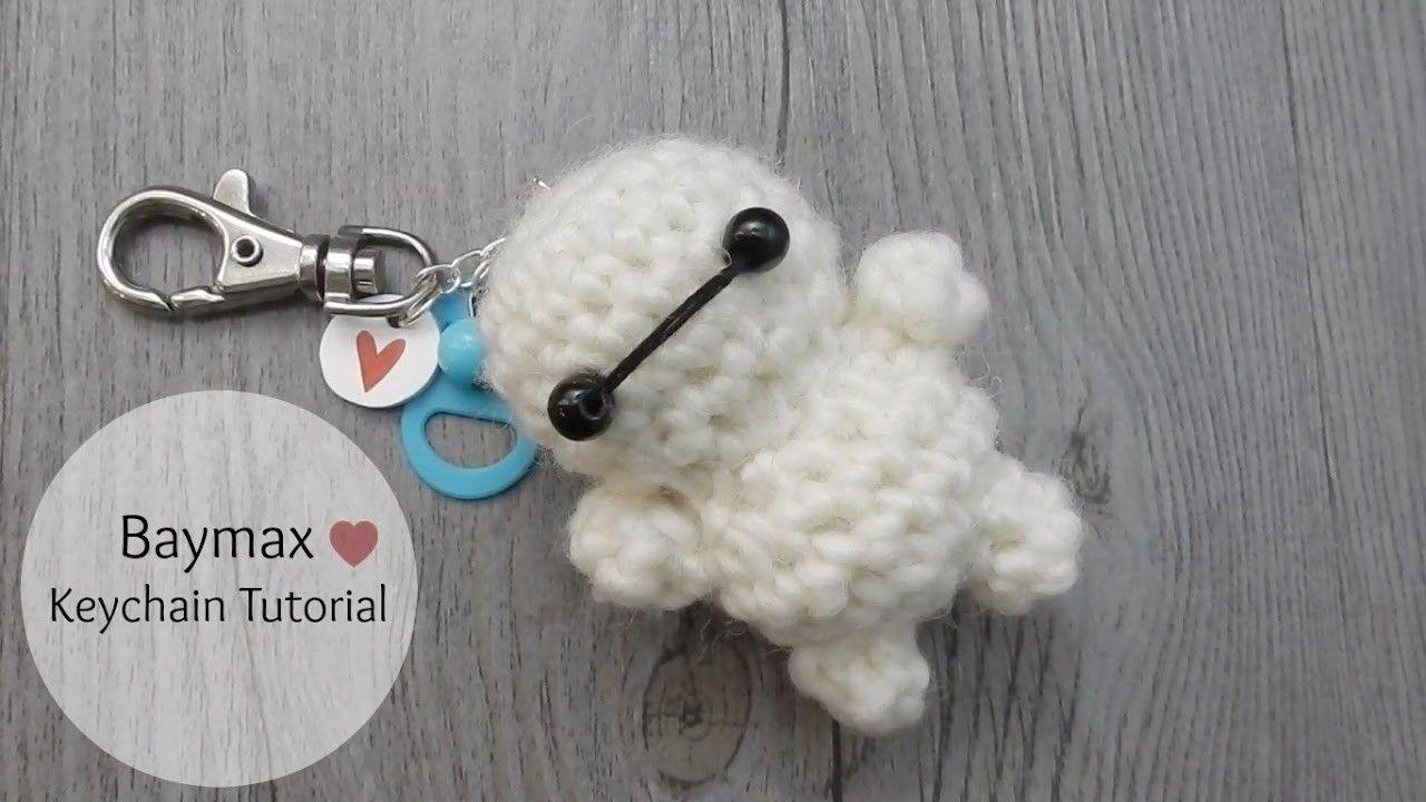 Gato Amigurumi Llavero : Baymax crochet tutorial amigurumi llaveros patrones amigurumi y