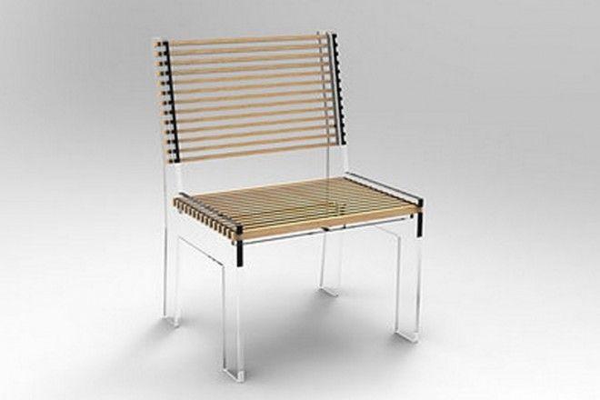Acrylic Chair, by Puerto Rican, industrial designer, Natasha Rivera ...